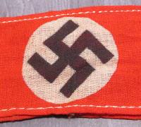 NSDAP Readiness Detachment Armband