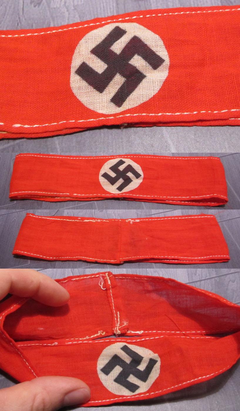NSDAP Readiness Detachment Armband