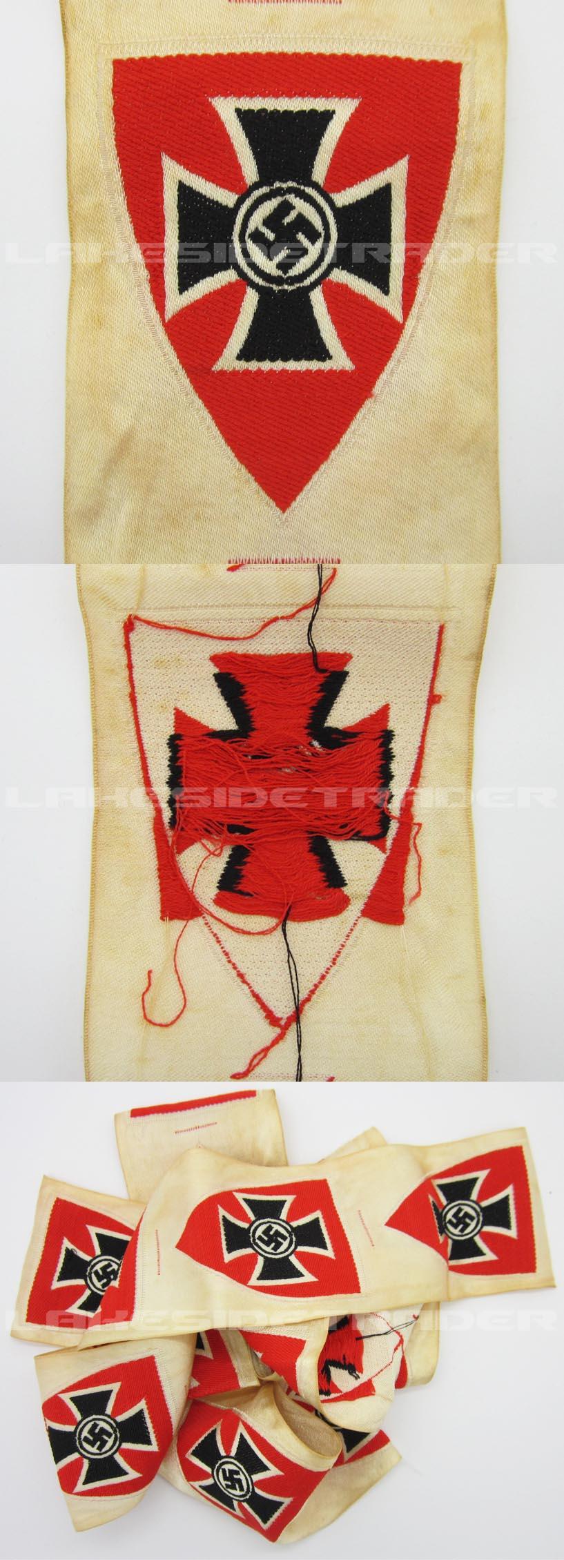 DRKB Veterans Membership Armband Insignia
