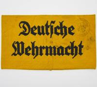 Stamped Deutsche Wehrmacht Armband
