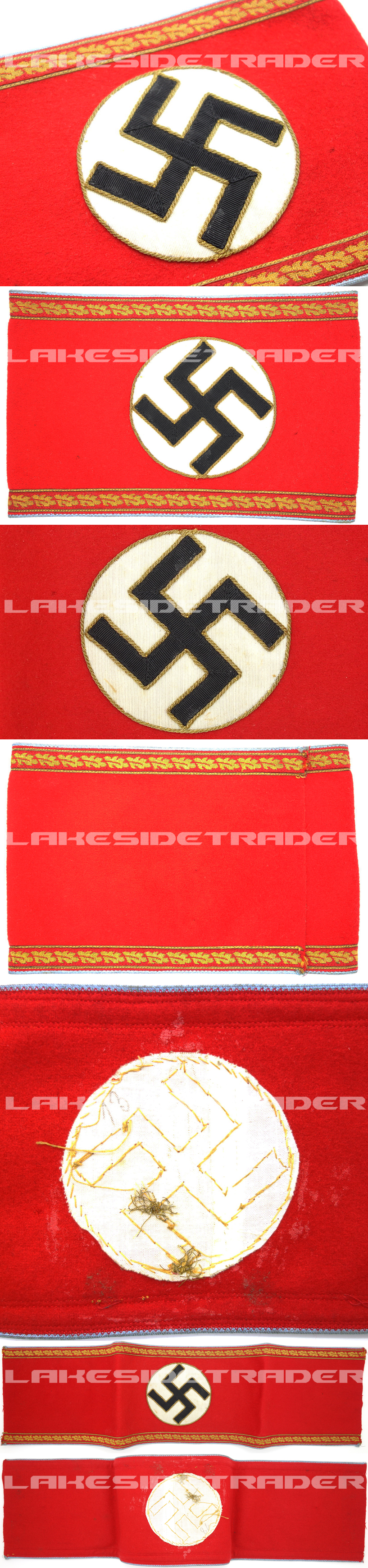 NSDAP Administrative Orts Level Armband