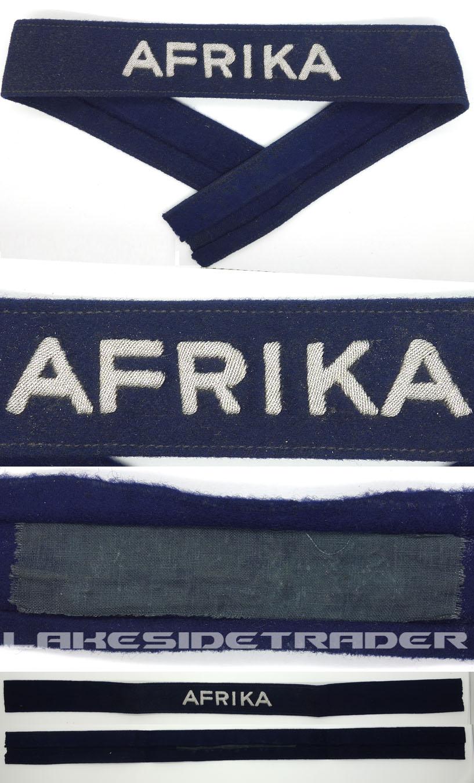Luftwaffe AFRIKA Officer's Cufftitle