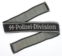 SS Polizei-Division EM/NCO Cufftitle