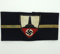 DKRB Veterans Officers Armband
