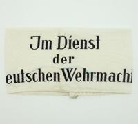Im Dienst der Deutshen Wehrmacht Armband