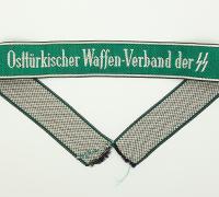 Osttürkische Waffen-Verbände Cuff Title