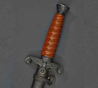 Damascus Alcoso (Carl Wester) Army Dagger
