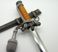 Personalized Anton Wingen Jr. Army Dagger