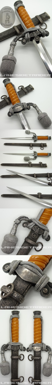 Personalized Anton Wingen Jr. Army Dagger