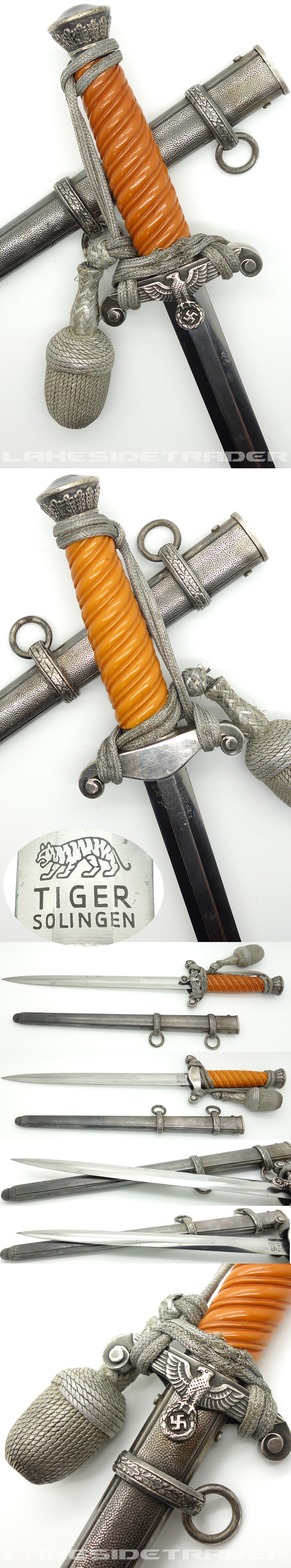 Early Army Dagger by Tiger