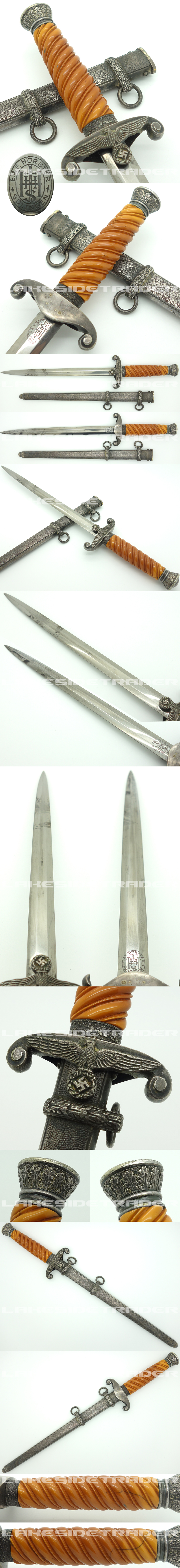 Army Dagger by E. & F. Hörster