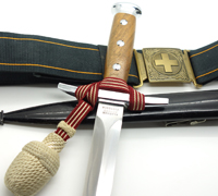 Swiss M43 Officer dagger with Accoutrements