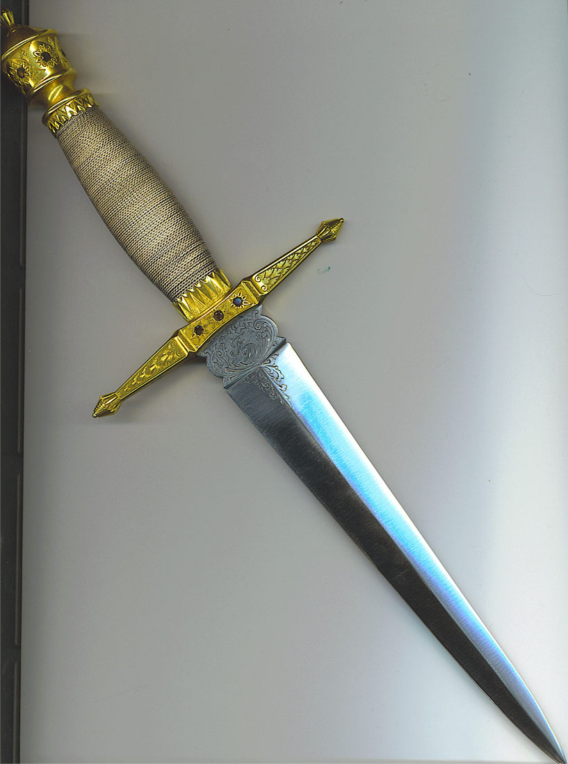 East German Frederich Dickel Presentation Army Dagger