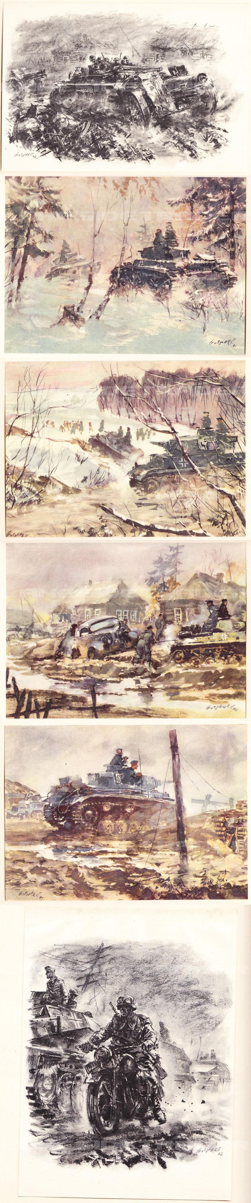 Panzergrenadiere Artwork Album by Gotsihke 1942