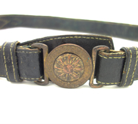 Japanese Imperial Army Officer Belt & Buckle
