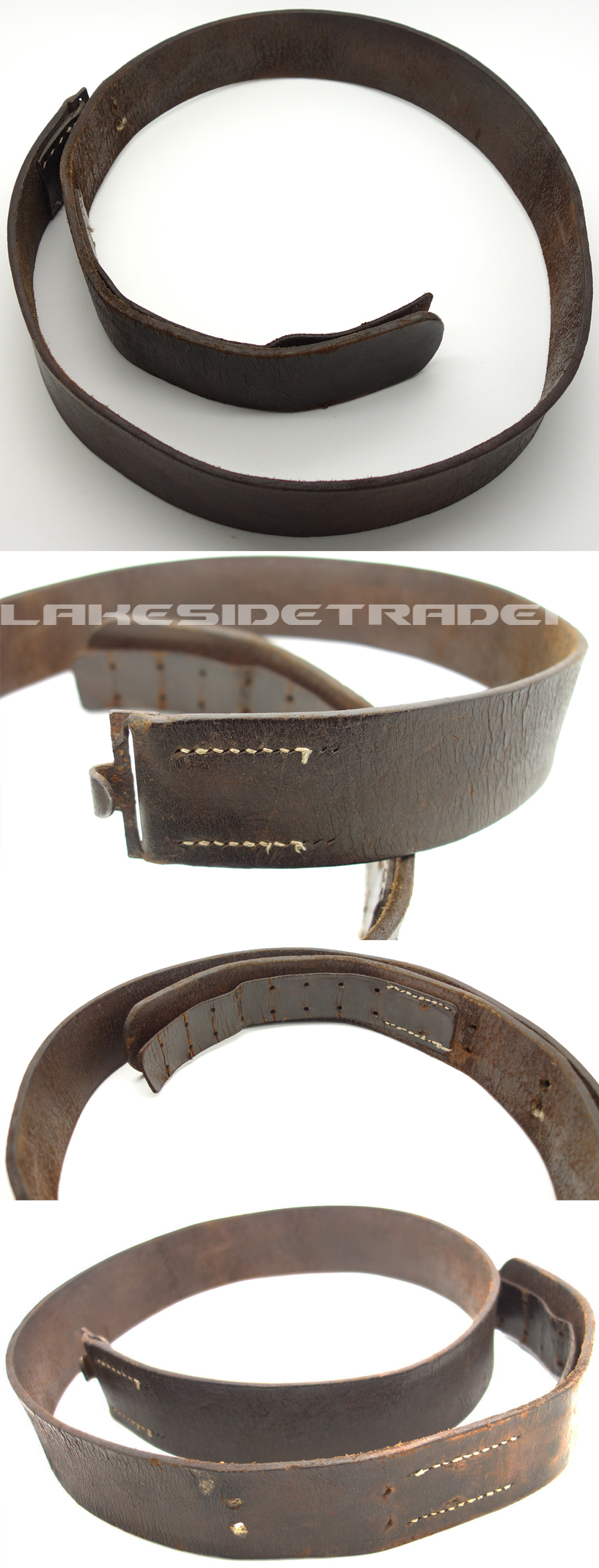 Brown Luftwaffe Parade Belt
