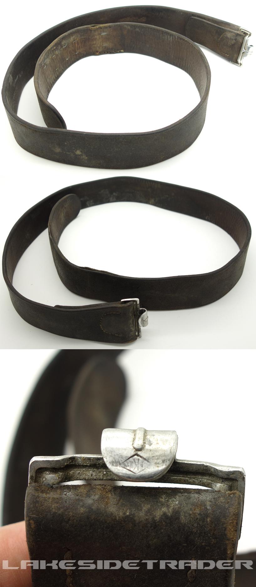 Black Combat Belt