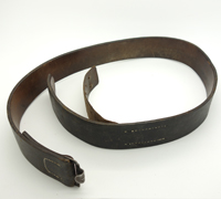 Black Combat Belt by Dransfeld and Co.