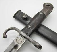 Modelo Argentino 1909 Mauser Sword Bayonet