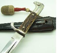 Eickhorn Stag Grip Short Dress Bayonet