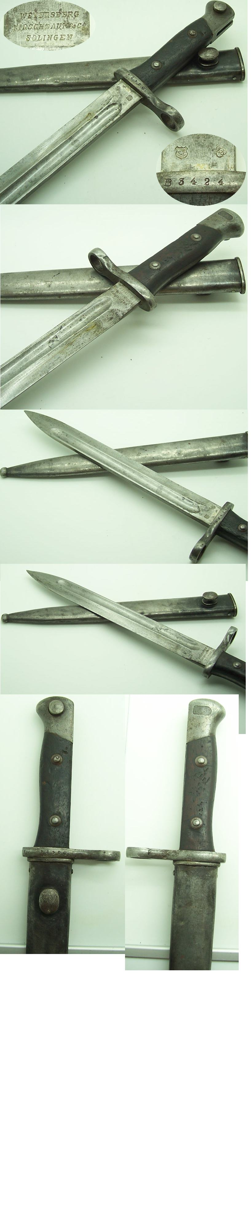 Chilean 1895 Mauser Bayonet by WKC