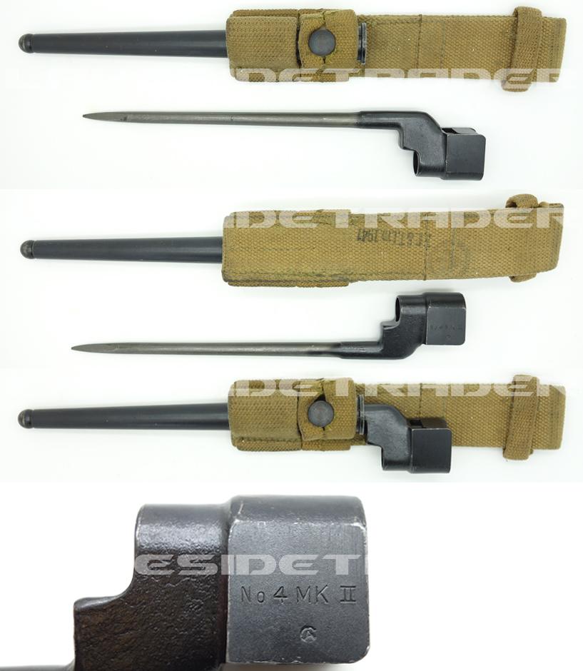 Canadian No. 4 MK II Spike Bayonet
