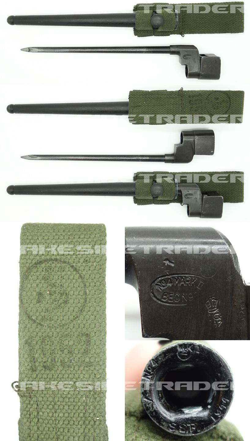 Indian  No. 4 MK II Spike Bayonet