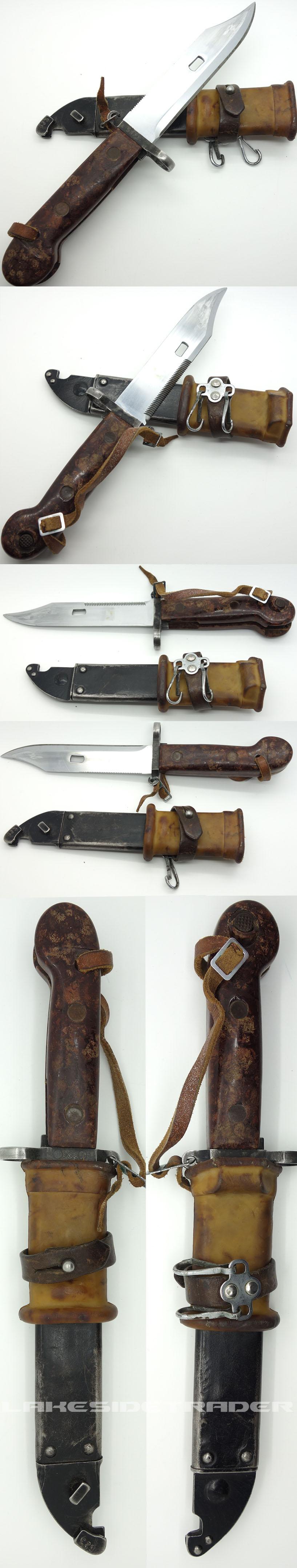 Russian AKM Bayonet