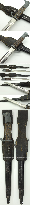 Ersatz Stag Grip Long Dress Bayonet