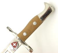 Miniature Swiss M1889 Bayonet