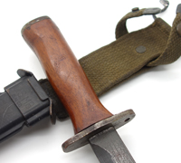 Milpar M5A1 Bayonet With M8A1 Scabbard