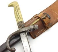 1910 Chilean Police Dagger / Bayonet Sidearm