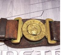British Sam Brown Belt and buckle