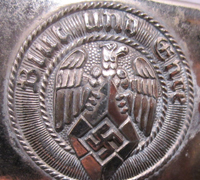 Personalized Hitler Youth Belt Buckle
