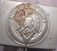 Hitler Youth Belt Buckle with Crank Catch