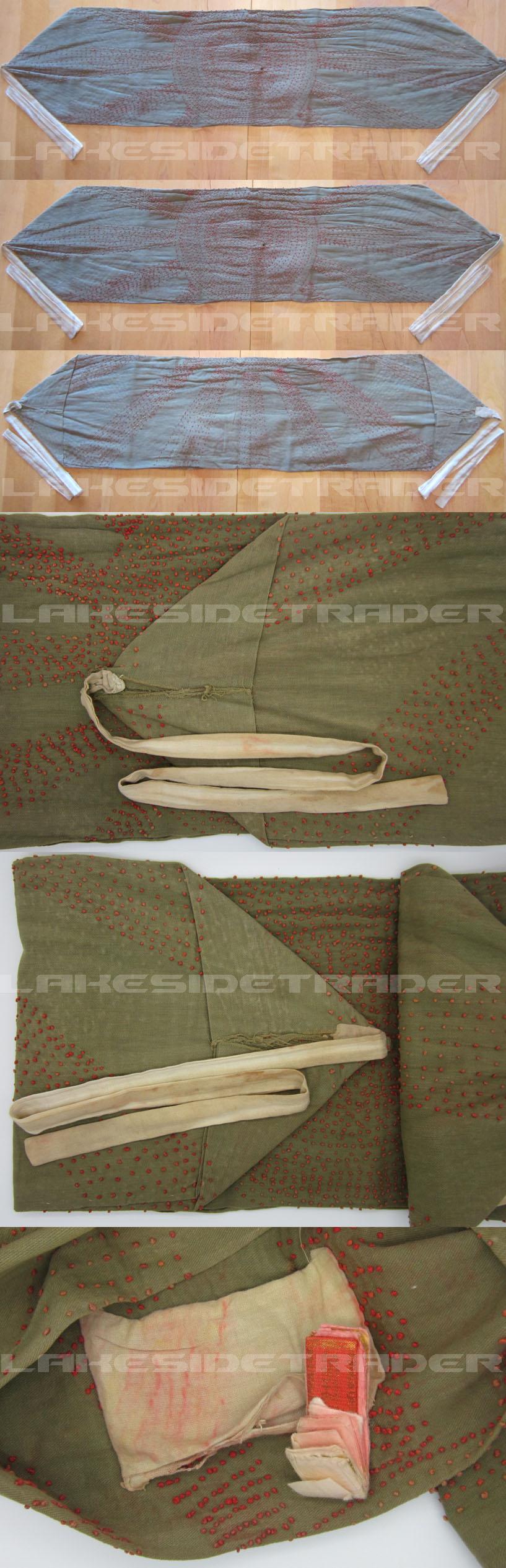Japanese Green Senninari, (1000 Stitch Belt)