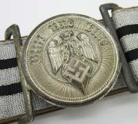 Hitler Youth Leader Brocade Belt and Buckle