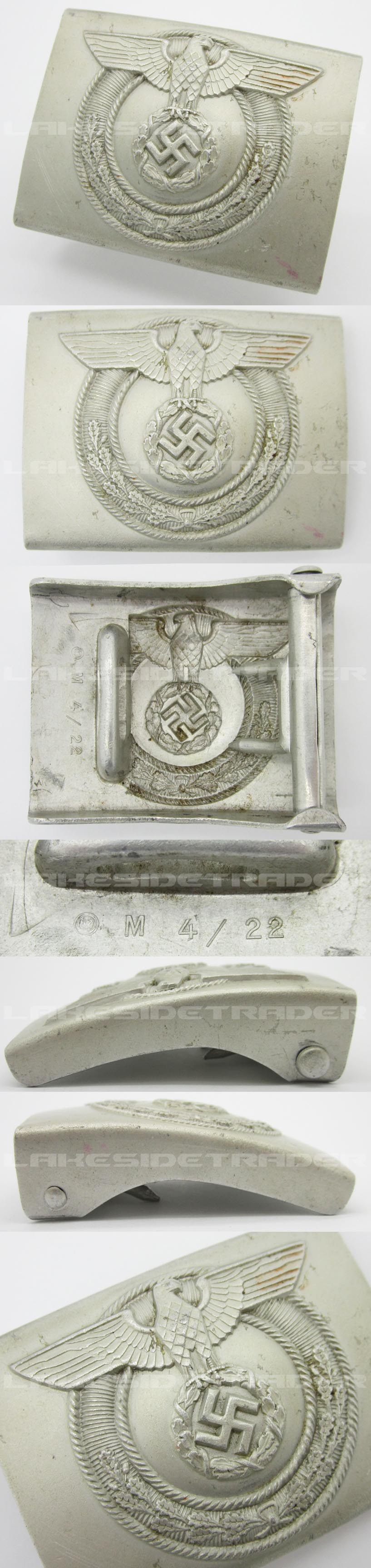 SA Wehrmannshaften Belt Buckle by RZM M4/22