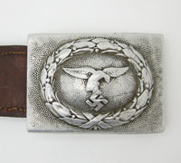 Early Tabbed Luftwaffe Belt Buckle by RS&S 1936