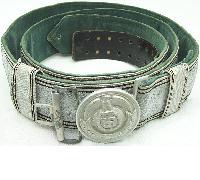 Waffen SS Officers Brocade Belt and Buckle