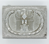 DRK Red Cross Belt Buckle by JFS 1938
