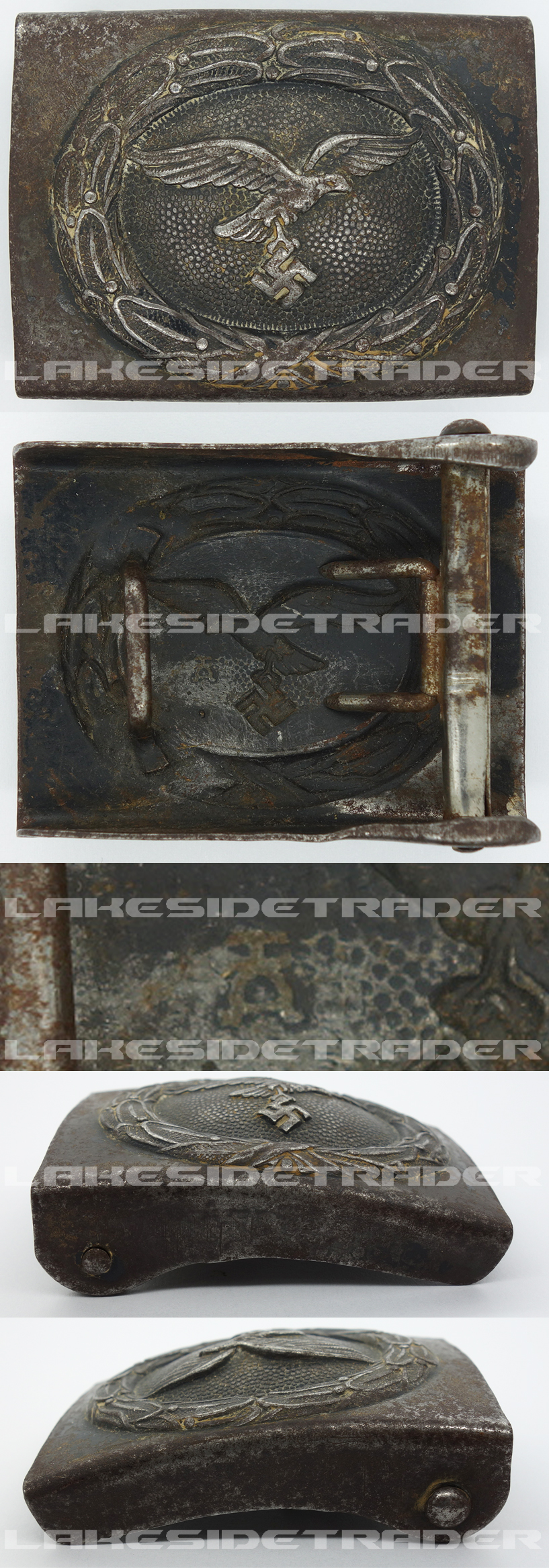 Luftwaffe Belt Buckle by HA
