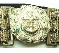 Navy Administrative Officer Brocade Belt and Buckle