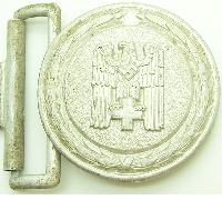 Red Cross Officer Brocade Belt Buckle