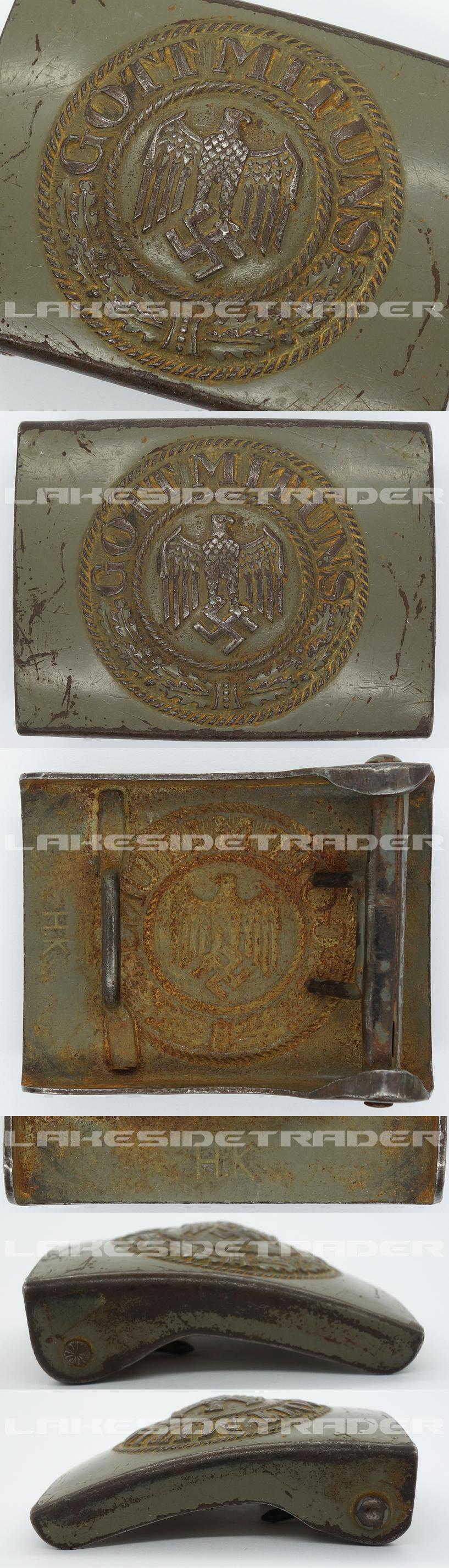 Army Belt Buckle by H.K.