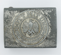 Unusual Army Belt Buckle by Assmann