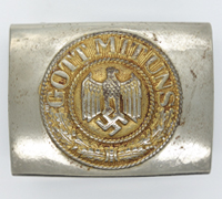 Navy Belt Buckle by N&H 1942