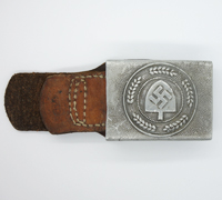 Tabbed RAD EM/NCO Belt Buckle by RS&S 1936