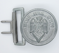 Hitler Youth Officers Brocade Belt Buckle by RZM M4/119