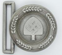 RAD Officers Brocade Belt Buckle by Assmann 1937